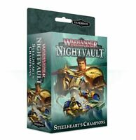 Steelheart's Champions - Warhammer Underworlds: Nightvault - Brand New! 110-34