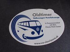 Sticker autocollant : VW Volkswagen - oldtimer Nutzfahrzeuge