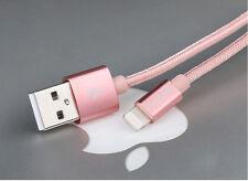 USAMS MFi certificado iPhone 5S 6S Ipad Iluminación Cable USB CARGA de nylon de sincronización de datos