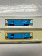 "Z Scale  Marklin Z 8672 Freight car ""Ship it on the Frisco!"" Set of 2 carts"
