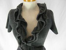 Catherine Malandrino Cashmere Size M 10 12 Designer Wrap Top