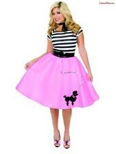 f9225b1ea54 Adult Plus Costume Poodle Skirt Pink Charades 1136 3x