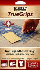 Grace TrueCut TrueGrips True Grips Non-Slip Quilt Ruler Grips 15 per Pack