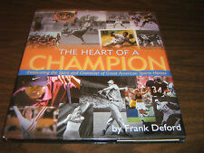The Heart of a Champion-Celebrate American Sport Heroes Hard Cover & Dust Jacket