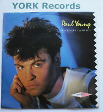 "PAUL YOUNG - Wherever I Lay My Hat - Excellent Condition 7"" Single CBS A 3371"