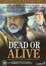 Dead Or Alive (DVD, Region 4) Kris Kristofferson - Brand New, Sealed
