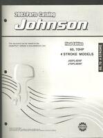 2002 JOHNSON 60, 70HP 4 STROKE OUTBOARD PARTS MANUAL