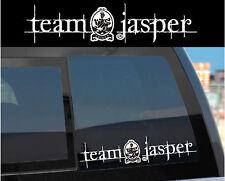 """Team Jasper"" Sticker Decal for Twilight & Edward w/ Cullen crest design too!"