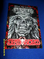 """2012 BREYGENT DEAD WORLD ZOMBIE CARD """" BEHIND THE GLASSES  """" #19"""