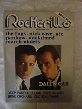 ROCKERILLA N.52/1984 FUGS NICK CAVE XTC PANKOW DALI'S CAR UNCLAIMED JOHN SAVAGE