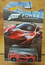 Hot Wheels 2017 FORZA MOTORSPORT 2/6 McLAREN P1 - RED (A+/B)