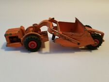MATCHBOX Lesney King Size ALLIS-CHALMERS MOTOR SCRAPER No. 6 Red Hubs
