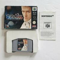 Nintendo 64 N64 Michael Owen's WLS 2000 Boxed PAL