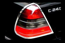 Mercedes W202 Chrom Rückleuchten Rahmen Rand (LINKS+RECHTS)