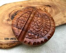 Hand Carved Wooden Smart Phone Holder iPhone Samsung Beautiful Unique Gift MP-H1
