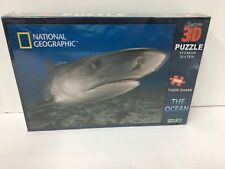 National Geographic 3 D Puzzle 500 Pieces Tier Shark The Ocean Factory Sealed