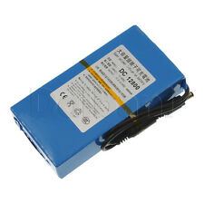 DC-12800 Super Recheargeable Li-ion battery 12.6V 8000mAh for Security Equipment