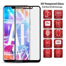 For Samsung J6 Plus (2018) SM-J610F - Full Glue, Glass Screen Protector [Black]