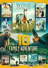 10 Family Adventure Movies (DVD, 2014, 2-Disc Set)