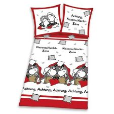 Sheepworld Pillow Fight Zone - Bed Linen Microfibre 135/200 New Product Sheep