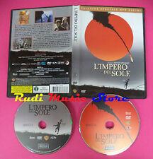 DVD film L'IMPERO DEL SOLE 2005 edizione speciale 2 dischi WARNER  no vhs(D1)