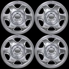 "4 CHROME 2008-12 Ford ESCAPE 16"" Wheel Skins Hub Caps Rim Covers Full Simulators"
