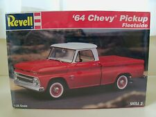 REVELL - (1964) '64 CHEVY FLEETSIDE PICKUP TRUCK - MODEL KIT (SEALED)