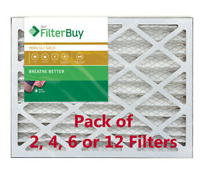 FilterBuy 18x24x4 Air Filters, Pleated Replacement for HVAC AC Furnace (MERV 11)