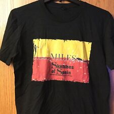 Miles Davis.  Sketches Of Spain.  Shirt.  Black.  L