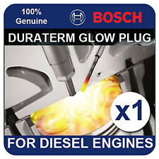 GLP101 BOSCH GLOW PLUG fits TOYOTA Avensis 2.0 Diesel Turbo Liftback 99-03 1CDFT