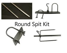 Whole animal pig lamb rotisserie spit and accessories ki t