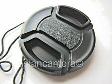 Front Lens Cap For FUJI S3400 S4000 S4080 HD FINEPIX FUJIFILM + Keeper Holder