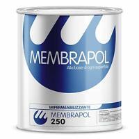 Impermeabilizzante poliuretanico Membrapol 250 elasticità > 800% PROFESSIONALE