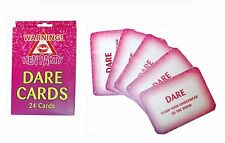 1 Pack of 24 Hen Party Dare Card Accessories- Hen party fun activity games