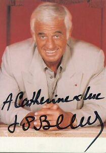 Jean-Paul Belmondo Autogramm Autograph Nouvelle Vague Der Profi