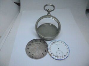 Longines case and dials, 395
