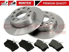 FOR AUDI A3 8P1 1.6 1.8 1.9 2.0 TDi 03- REAR MINTEX COATED BRAKE DISCS PADS 253