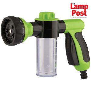 Draper 82131 - 8 Pattern Garden Hose Pesticide Fertiliser Car Washing Spray Gun