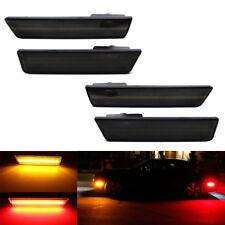 2008-2014 Dodge Challenger Front & Rear Smoke Laser Style LED Side Marker Lights