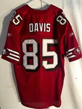 Reebok Authentic Jersey San Francisco 49ers Vernon Davis Burg Throwback sz  54 477af07d7