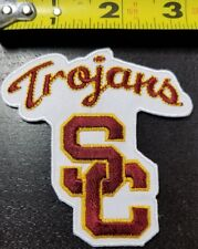 "USC Trojans NCAA 3"" Iron/Sew On Patch~FREE SHIPPING FROM THE U.S.A.~"