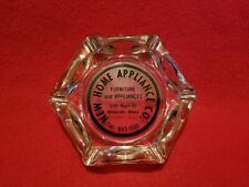 Vintage Ashtray New Home Appliance Co Webster Mass