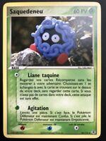 Carte Pokemon SAQUEDENEU 30/112 Rare Rouge Feu Vert Feuille Bloc EX FR NEUF