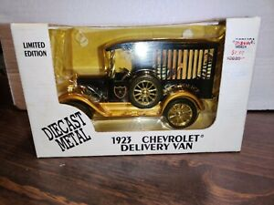 Ertl 1923 Chevy Delivery Van- City Police w/ Prisoners Die Cast Bank w/Box