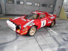 Lancia Stratos HF Rally Tour de Corse #6 Andruet Chardonnet Ixo Altaya n 1:18
