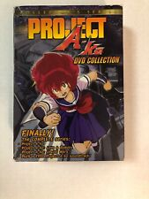 Project A-Ko: Complete Series {DVD, 2002, 4-Disc Box Set} with CD Soundtrack