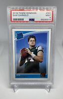 2018 Donruss Sam Darnold Jets Rated Rookie #301 PSA 9 Mint Panthers RC