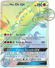 Pokemon Ho-Oh GX SM80 Soleil et Lune Secret Rare Carte Promo 190 PV VF Francais