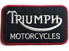 TRUIMPH MOTORCYCLES PATCH British iron on biker badge GB retro Motorbike jacket