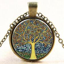 Wunderschöne Halskette Fantasie Nebula Bild Design Antike Bronze